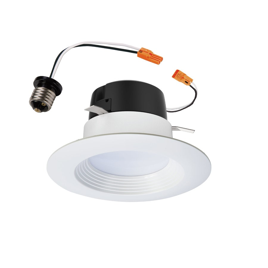 Halo LT 60-Watt Equivalent White Dimmable LED Recessed Retrofit Downlight (Fits Housing Diameter: 4-in)