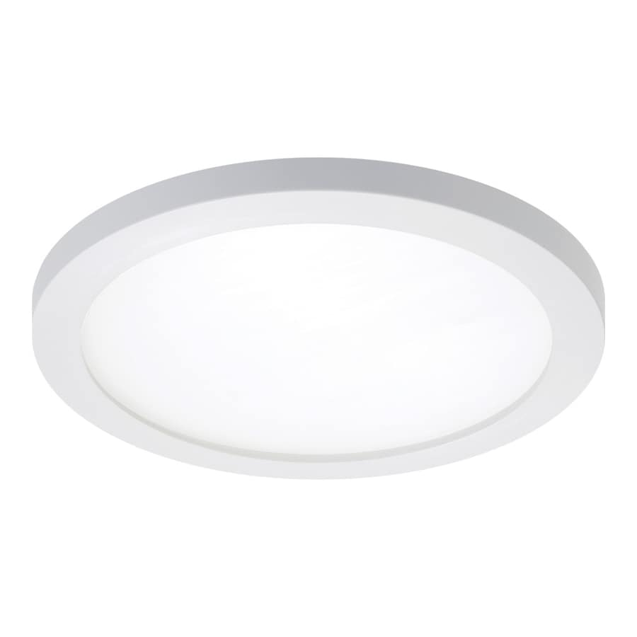 5909049e7f4 Halo 1-Pack SMD Series 65-Watt Equivalent White Dimmable LED Recessed  Retrofit Downlight (Fits Housing Diameter 5-in or 6-in)