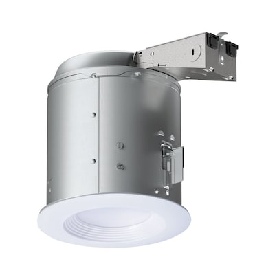 Lt White Led Remodel Recessed Light Kit Fits Opening 6 In