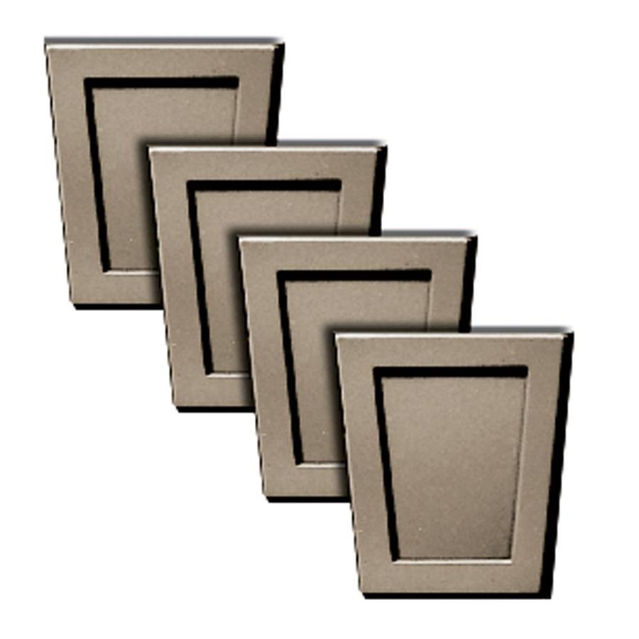 Builders Edge 3.1875-in x 3.2-in Clay Rectangle Vinyl Gable Vent