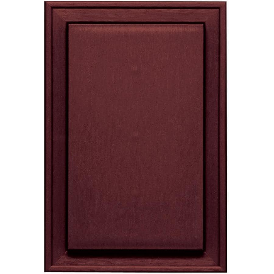 Builders Edge 8 In X 12 In Wineberry Vinyl Universal
