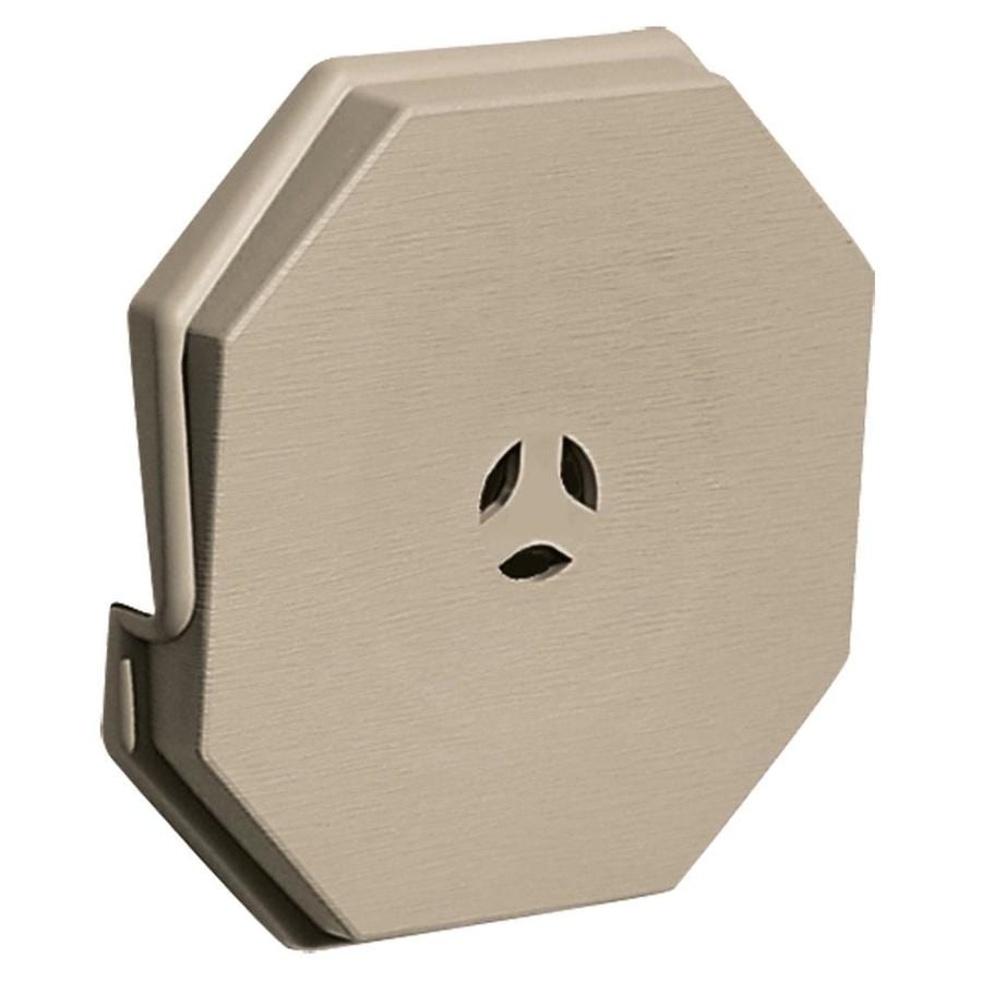 Builders Edge 6 6875 In X 6 6875 In Clay Vinyl Universal