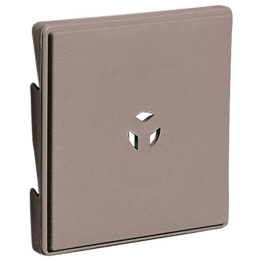 Builders Edge 6 625 In X 6 625 In Clay Vinyl Universal