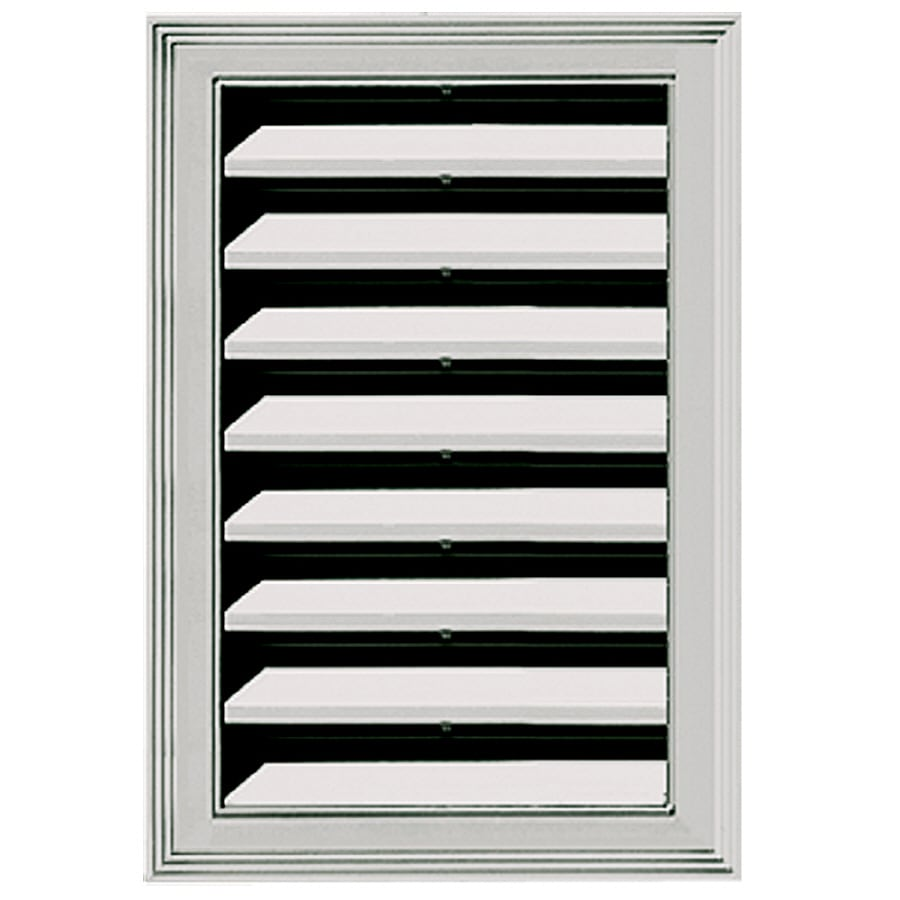 Shop builders edge gable vent at for Gable decorations home depot