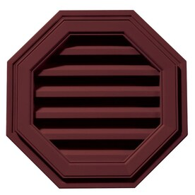 Builders Edge 18 In X 18 In Paintable Octagon Vinyl Gable Vent In The Gable Vents Department At Lowes Com