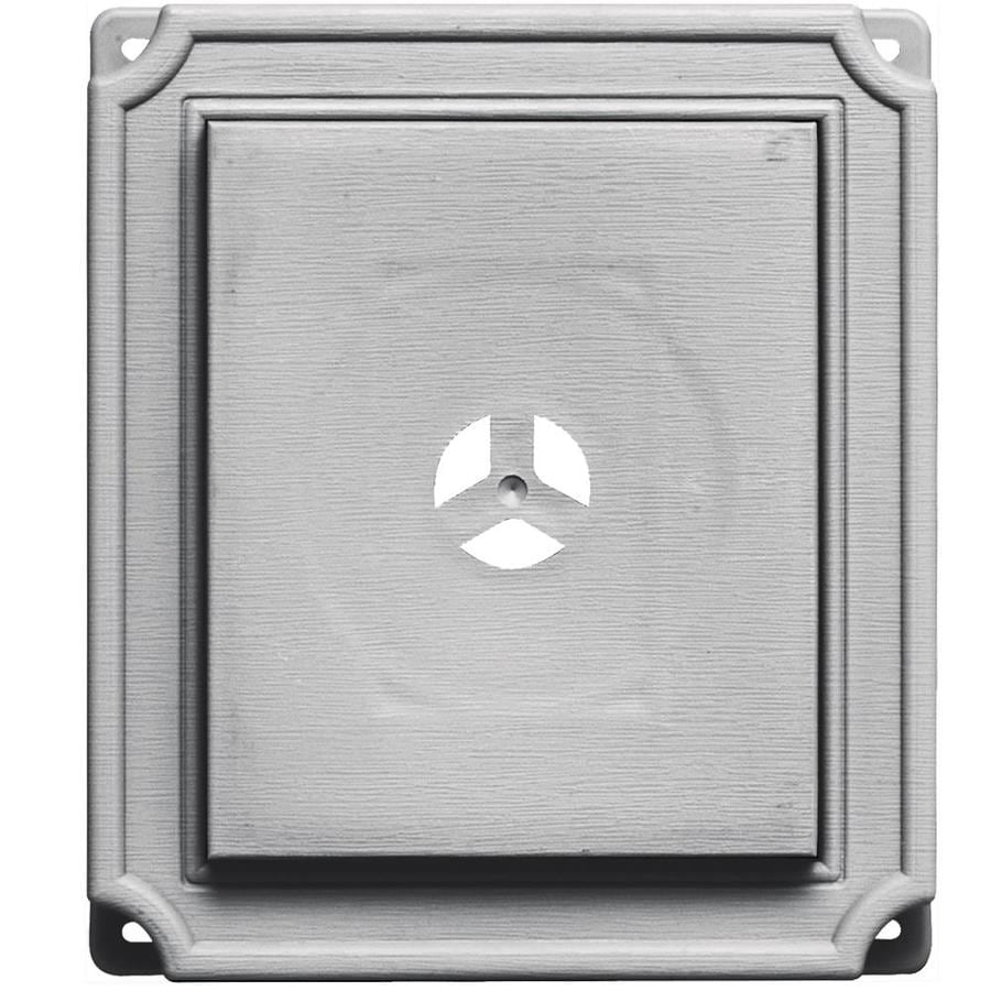Shop Builders Edge 7 In X 8 In Gray Vinyl Universal