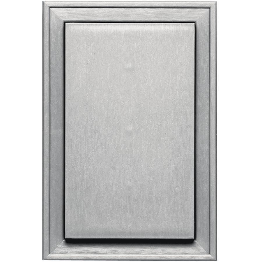 Builders Edge 8-in x 12-in Paintable Vinyl Universal Mounting Block
