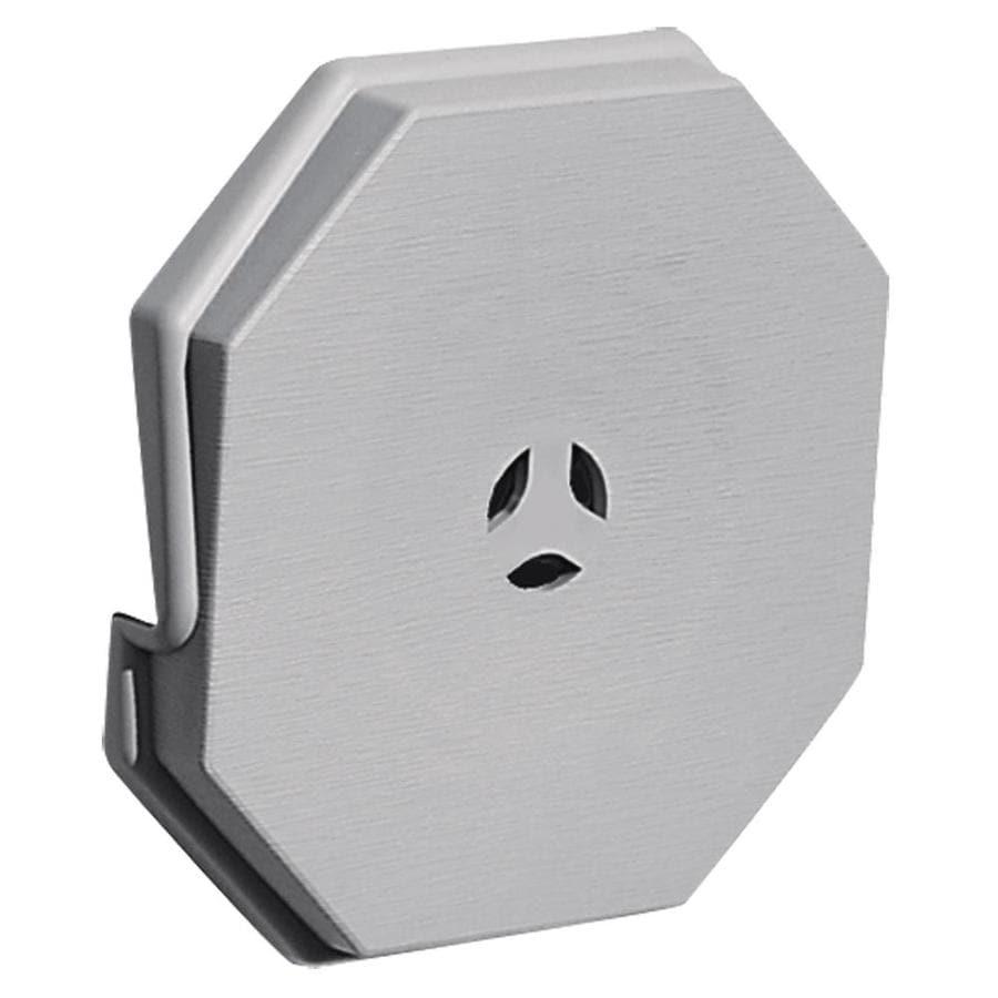 Builders Edge 6 6875 In X 6 6875 In Gray Vinyl Universal