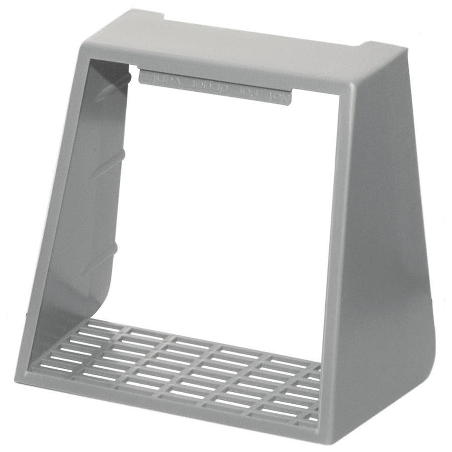 Builders Edge 4-in Plastic Pest Guard Dryer Vent Cap