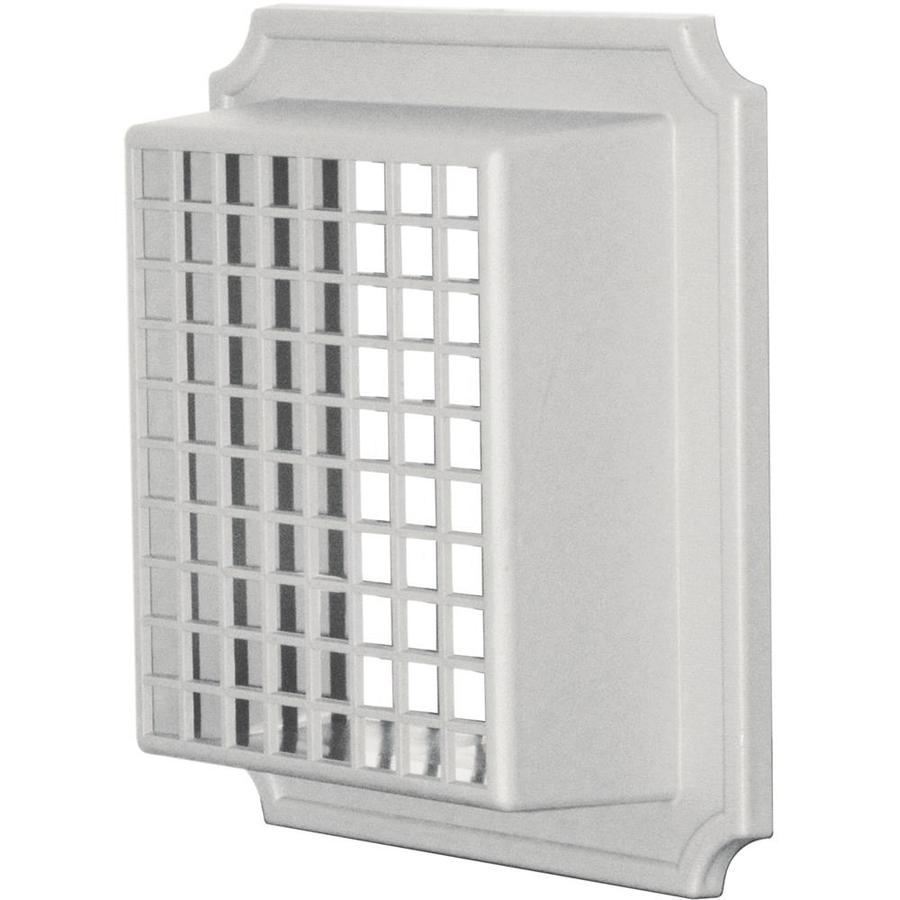 Builders Edge 4-in Plastic Pest Guard Dryer Vent Cap