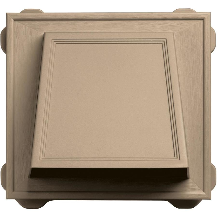 Builders Edge 6-in Plastic Hood Dryer Vent Cap