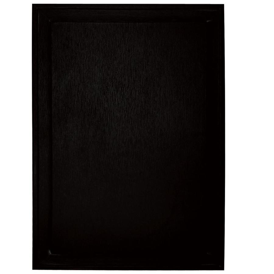 Builders Edge 10-in x 14-in Black Vinyl Universal Mounting Block