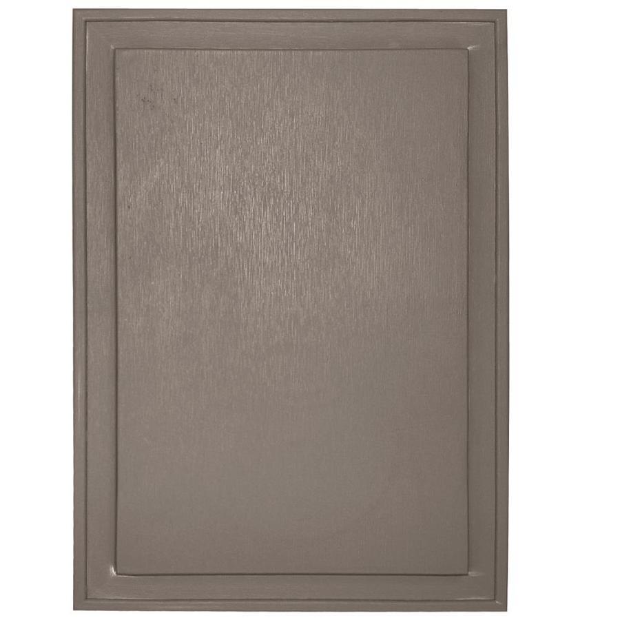 Builders Edge 10-in x 14-in Clay Vinyl Universal Mounting Block