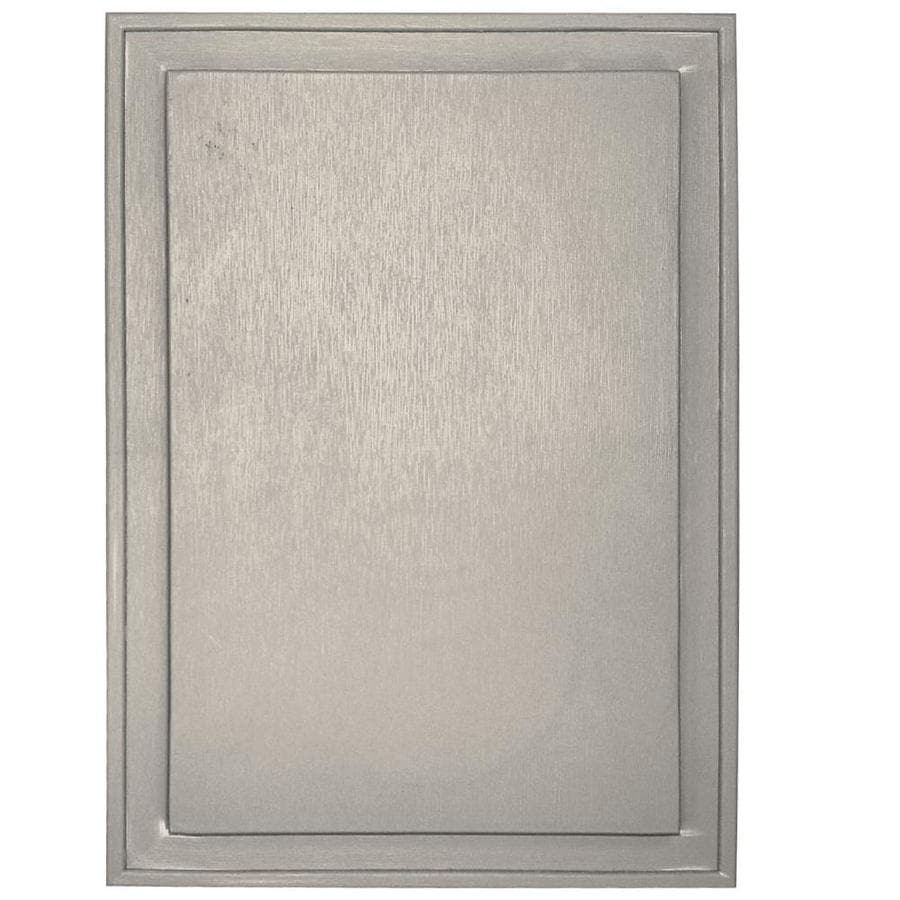 Builders Edge 10-in x 14-in Almond Vinyl Universal Mounting Block