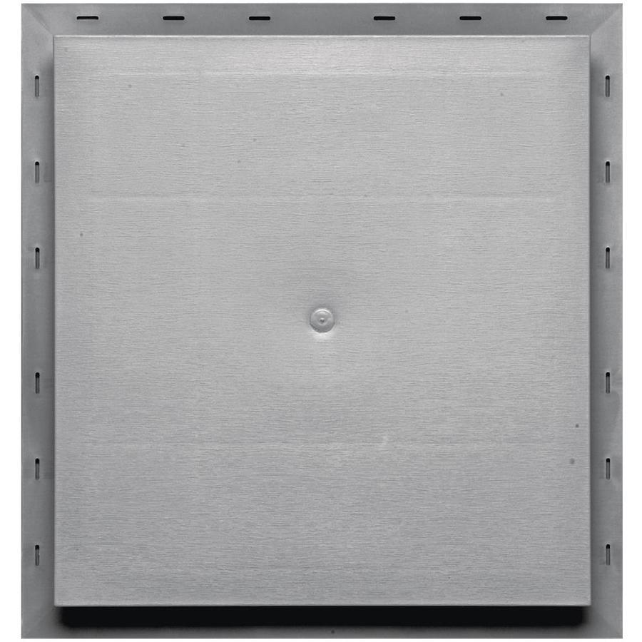 Builders Edge 15.5-in x 16.5-in Gray Vinyl Universal Mounting Block