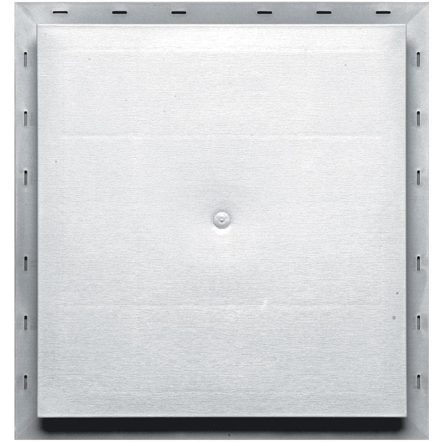 Builders Edge 15.5-in x 16.5-in White Vinyl Universal Mounting Block