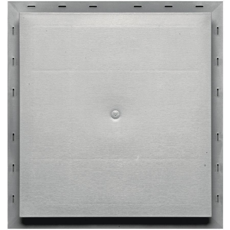 Builders Edge 15.5-in x 16.5-in Paintable Vinyl Universal Mounting Block