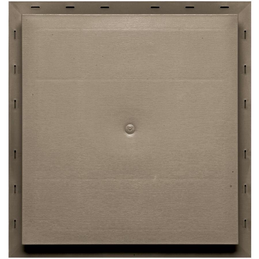 Builders Edge 15.5-in x 16.5-in Clay Vinyl Universal Mounting Block
