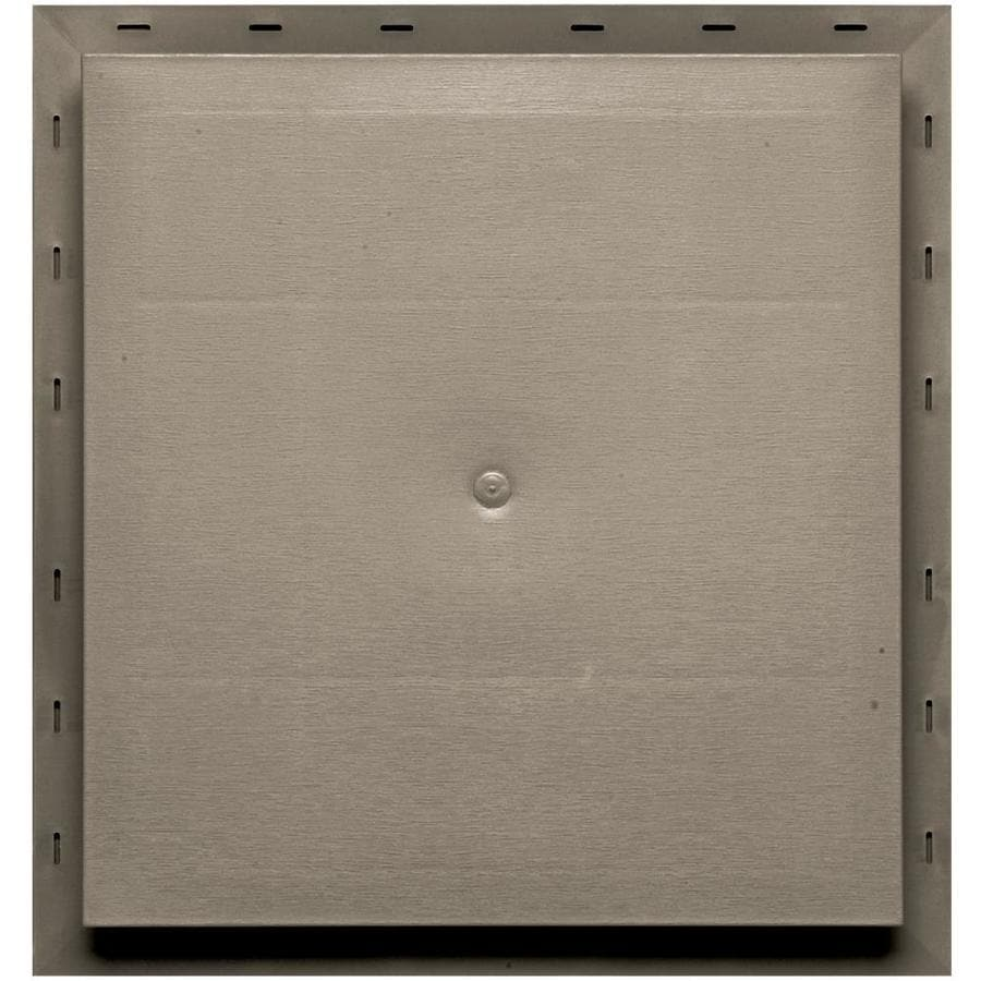 Builders Edge 15.5-in x 16.5-in Clay Vinyl Universal Mounting Block