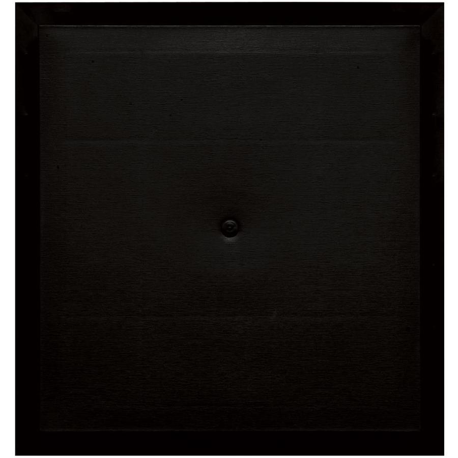 Builders Edge 15.5-in x 16.5-in Black Vinyl Universal Mounting Block