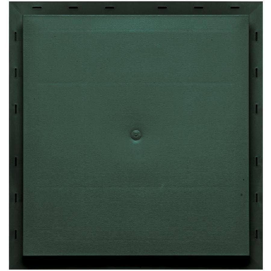 Builders Edge 15.5-in x 16.5-in Forest Green Vinyl Universal Mounting Block