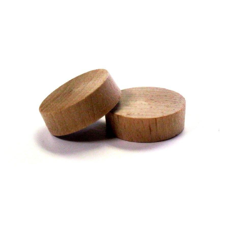 Madison Mill 6-Pack x 1 Poplar Button Plugs
