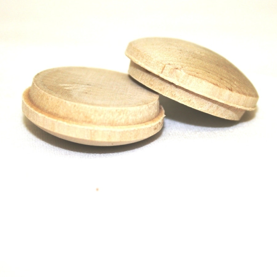 Madison Mill 6-Pack 1 x 1 Poplar Wood Button Plugs