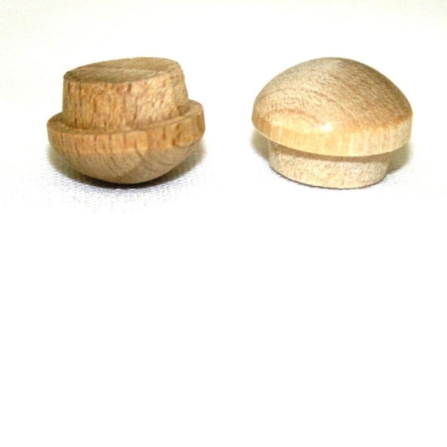 Madison Mill 12-Pack x 0.375 Oak Button Plugs