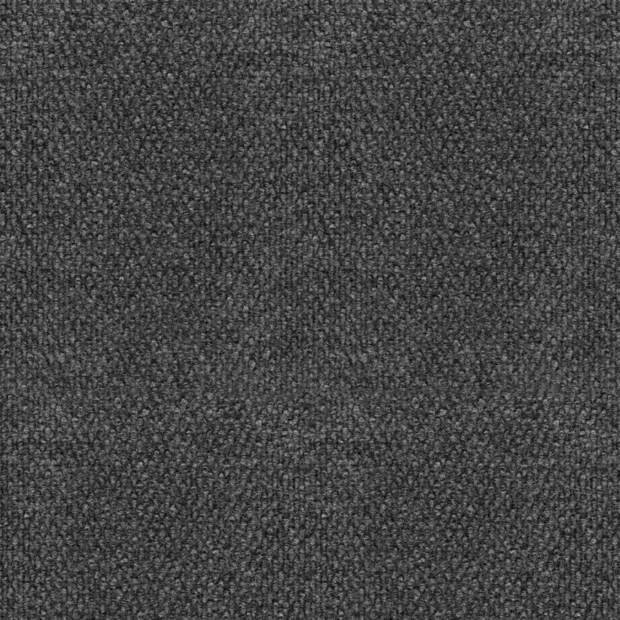 16-Pack 18-in x 18-in Pebble Gunmetal Needlebond Adhesive-Backed Carpet Tile