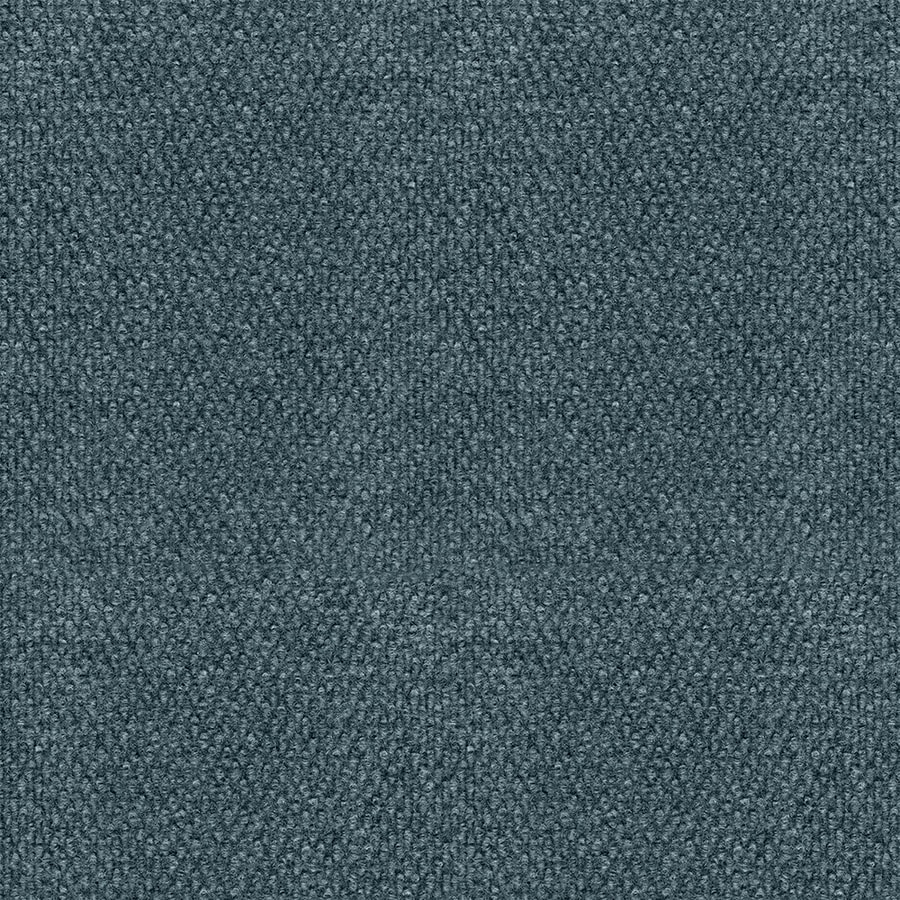EcoRug Selectelements Sky Grey Rectangular Indoor and Outdoor Needlebond Area Rug (Common: 6 x 8; Actual: 72-in W x 96-in L)