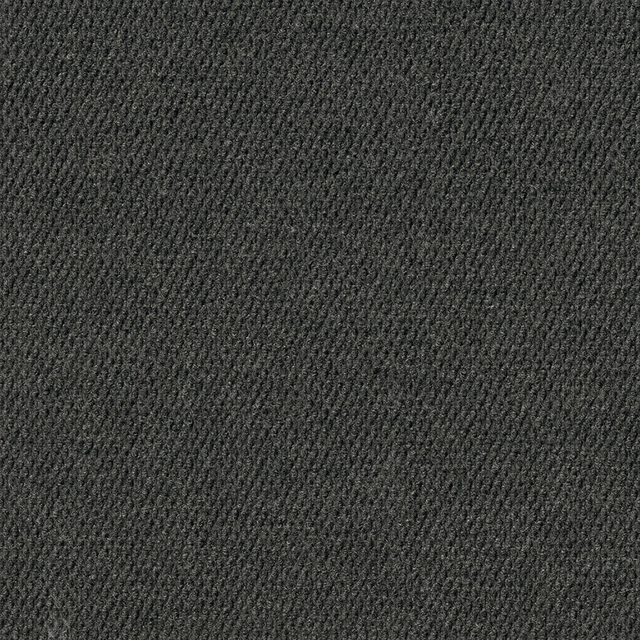 16-Pack 18-in x 18-in Black Ice Needlebond Peel-And-Stick Carpet Tile