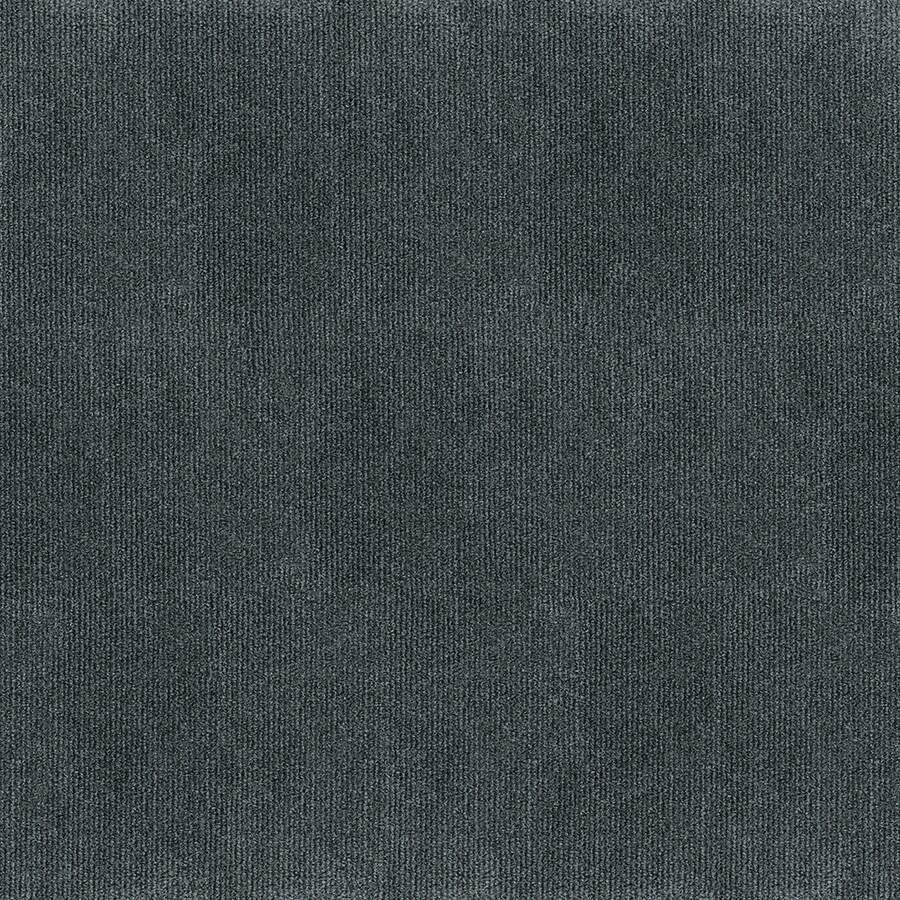 Varna 16-Pack 18-in x 18-in Smoke Needlebond Peel-And-Stick Carpet Tile
