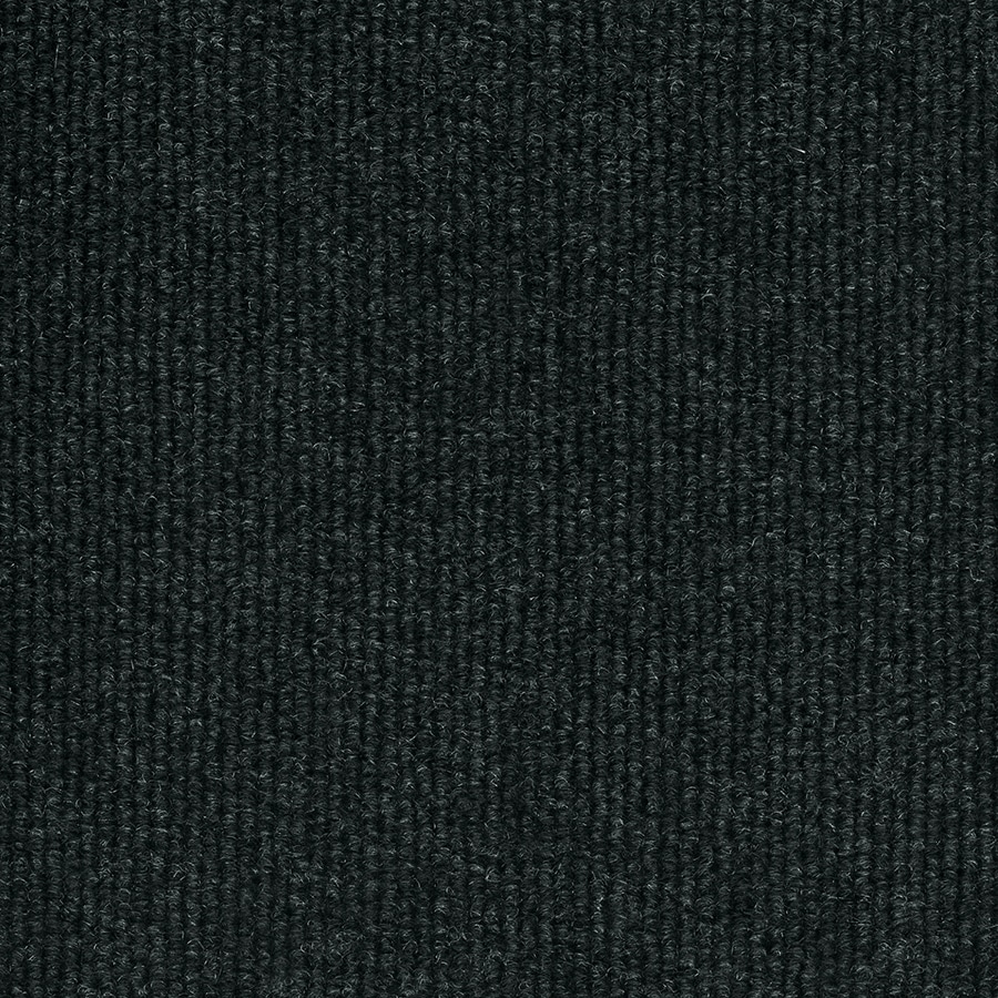 Select Elements 10-Pack 18-in x 18-in Black Ice Indoor/Outdoor Needlebond Peel-and-Stick Carpet Tile