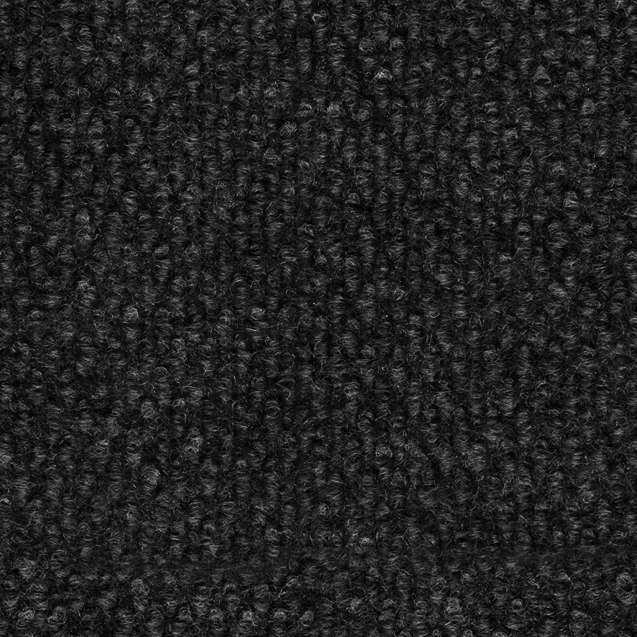 Select Elements 10-Pack 18-in x 18-in Black Ice Needlebond Adhesive-Backed Carpet Tile