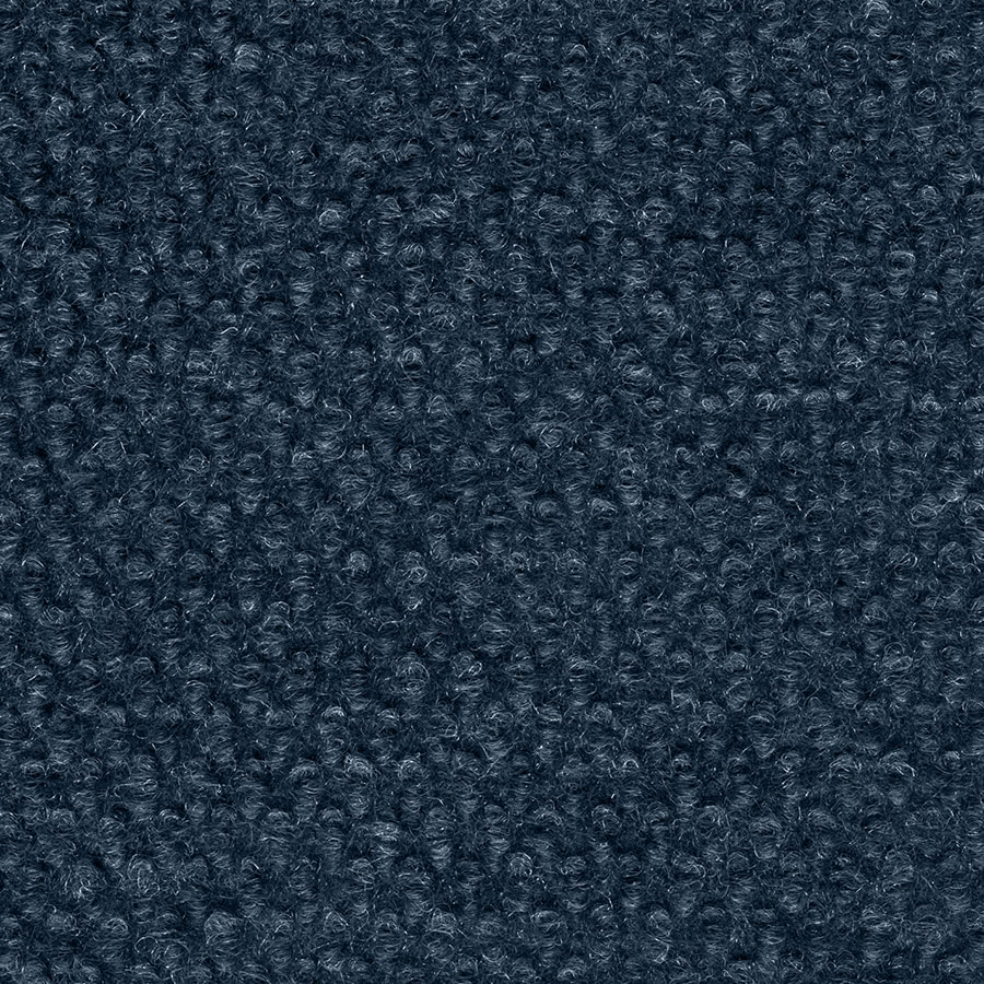 Select Elements 10-Pack 18-in x 18-in Ocean Blue Needlebond Adhesive-Backed Carpet Tile