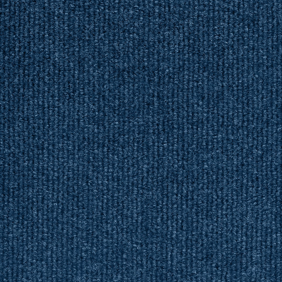 Select Elements 10-Pack 18-in x 18-in Blue Needlebond Adhesive-Backed Carpet Tile