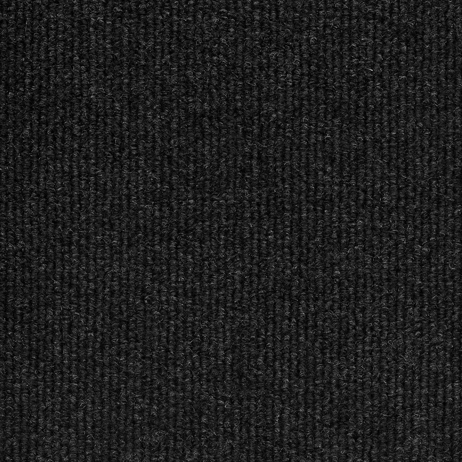 Select Elements Foster Black Needlebond Interior/Exterior Carpet