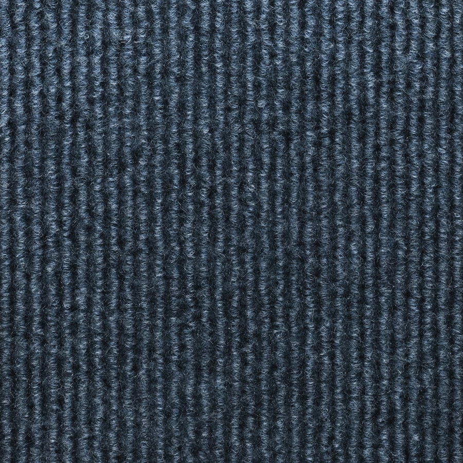 Select Elements 10-Pack 18-in x 18-in Ocean Blue Indoor/Outdoor Needlebond Peel-and-Stick Carpet Tile