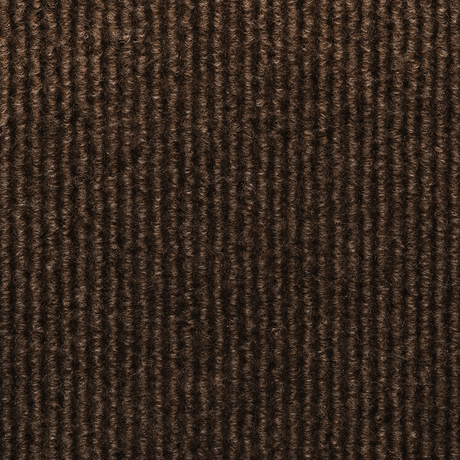Select Elements 10-Pack 18-in x 18-in Walnut Needlebond Adhesive-Backed Carpet Tile