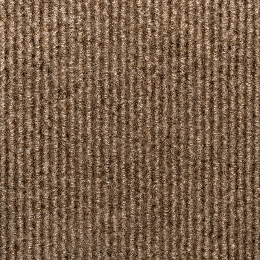 Shop Select Elements 10-Pack 18-in x 18-in Chestnut Needlebond Adhesive-Backed Carpet Tile at ...