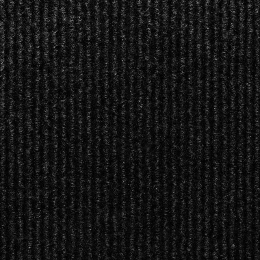 Select Elements 10-Pack 18-in x 18-in Black Needlebond Adhesive-Backed Carpet Tile