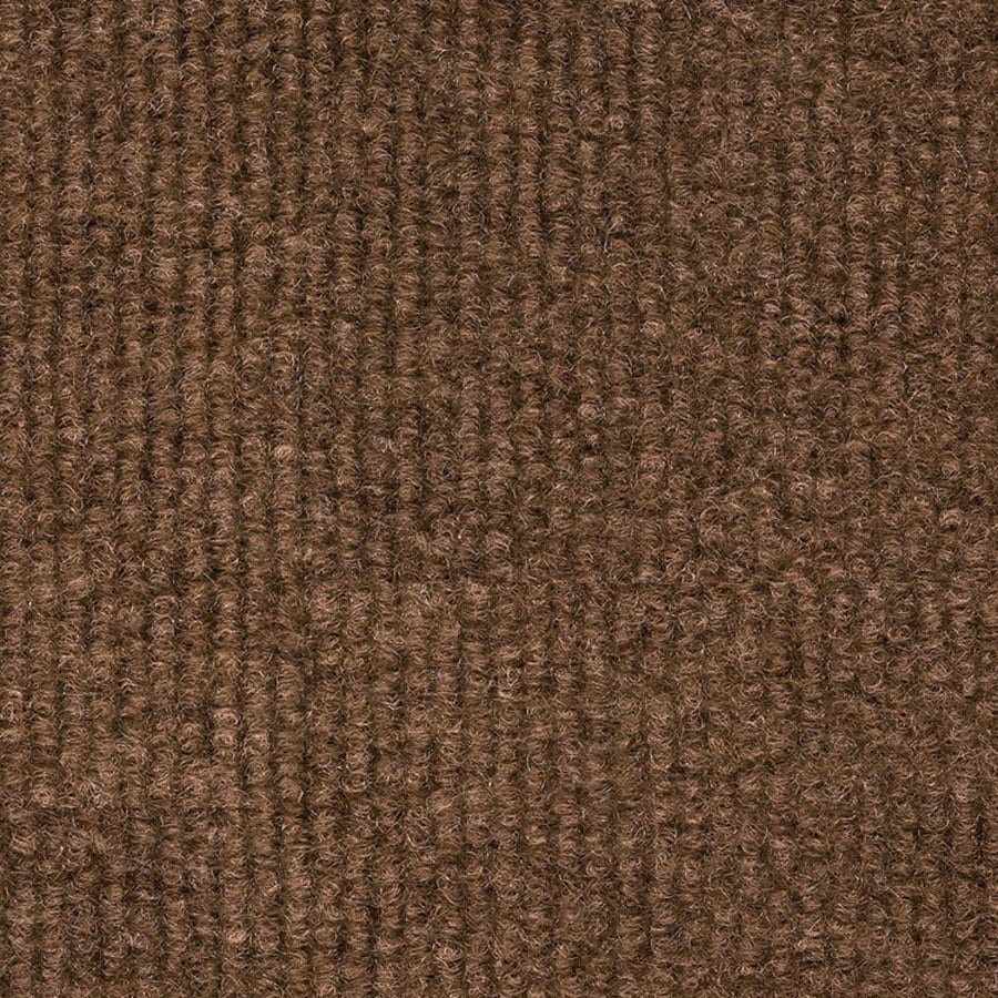 18-in x 18-in Restoration Brown Indoor/Outdoor Carpet Tile