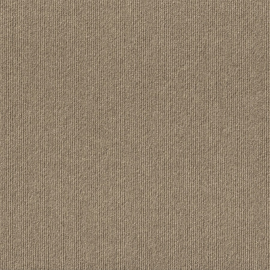 Select Elements 16-Pack 18-in x 18-in Taupe Needlebond Adhesive-Backed Carpet Tile