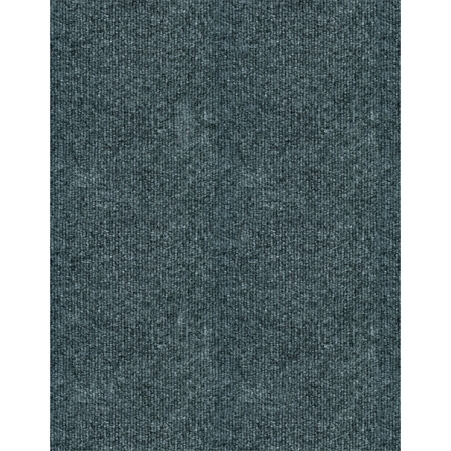 EcoRug Ecorug Charcoal Rectangular Indoor/Outdoor Woven Area Rug (Common: 6 x 8; Actual: 6-ft W x 8-ft L)