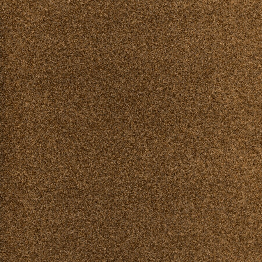 10-Pack 18-in x 18-in Integrity Brown Indoor/Outdoor Needlebond Peel-and-Stick Carpet Tile