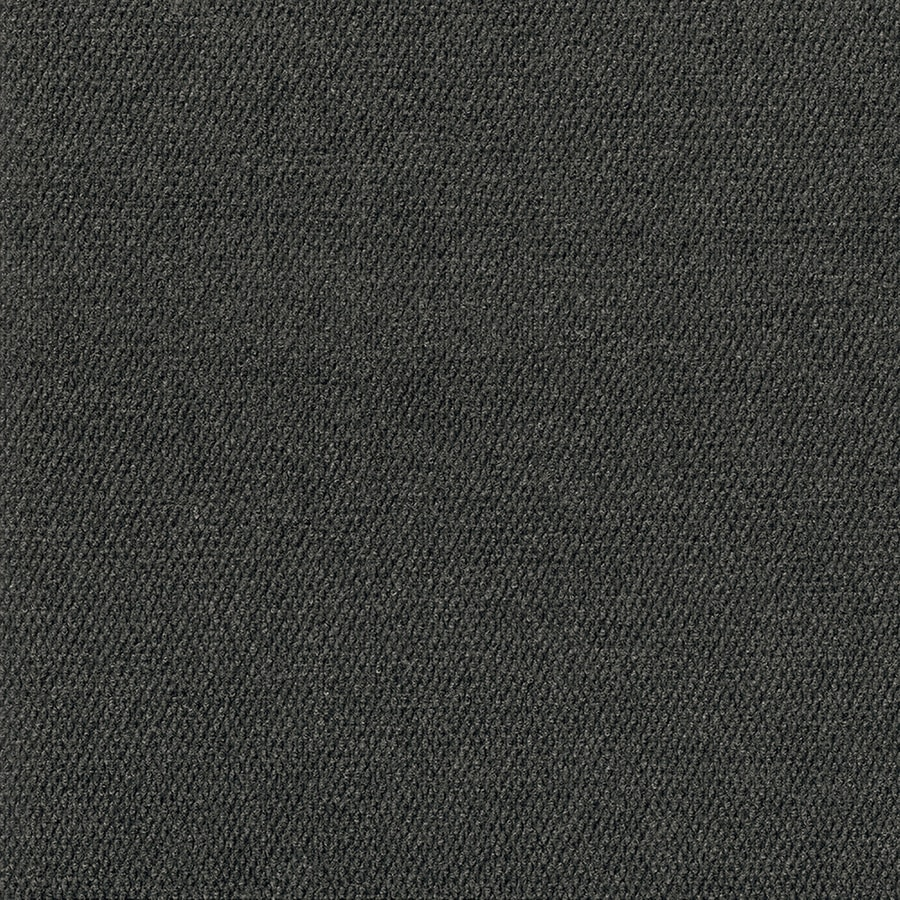 Pebble Path 15-Pack 24-in x 24-in Black Ice Needlebond Adhesive-Backed Carpet Tile