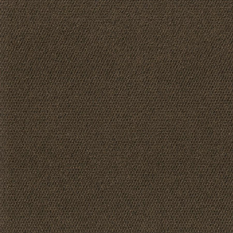Shop carpet tile at lowes pebble path 15 pack 24 in x 24 in mocha needlebond adhesive baanklon Images
