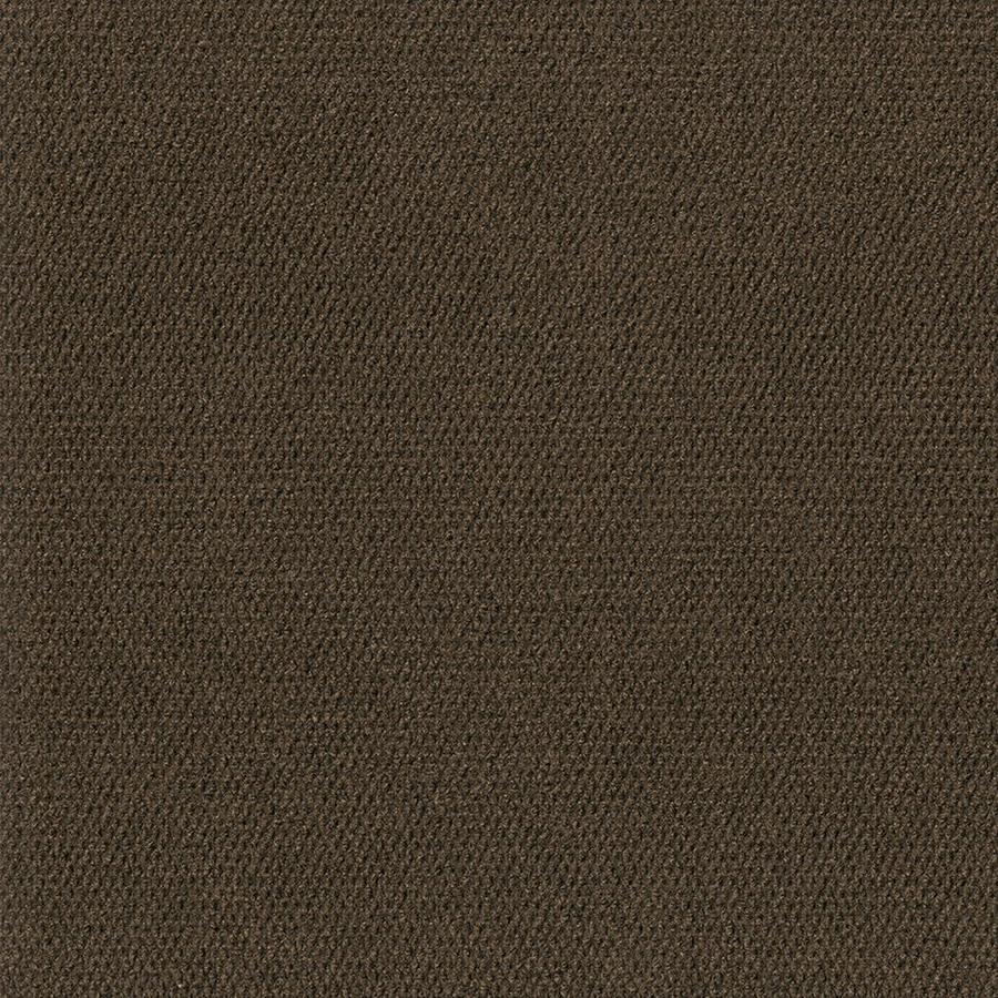Pebble Path 15-Pack 24-in x 24-in Mocha Needlebond Adhesive-Backed Carpet Tile