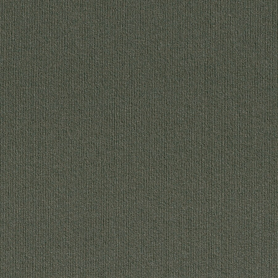 Contour Rib 15-Pack 24-in x 24-in Olive Needlebond Adhesive-Backed Carpet Tile