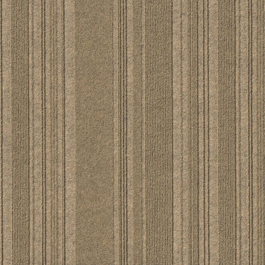 New Age 15-Pack 24-in x 24-in Chestnut Needlebond Peel-And-Stick Carpet Tile